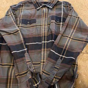 Patagonia long sleeve organic cotton shirt